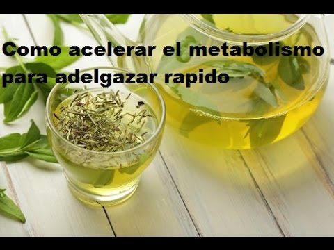 Como cambiar mi metabolismo para adelgazar