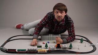 Поиграйка с Егором - Играем в железную дорогу - развивающее видео для детей