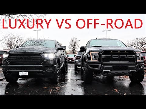 2020 Ram 1500 Black Appearance Limited Vs 2020 Ford Raptor: King Of Off-Road Vs King Of Luxury!