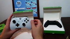 UNBOXING RETARDED MOD ON - CONTROLLER XBOX ONE S (alb/negru)