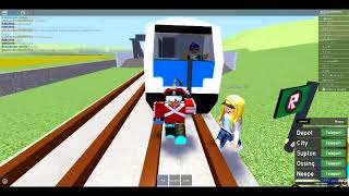 Stopping the Runaway express(Roblox Train classic)pt1