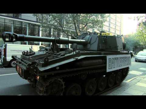 Tanks Invade London to Celebrate Battlefield 3
