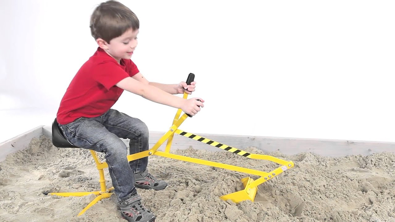 Construction Toys For Preschoolers : Reeves toys the big dig from international youtube