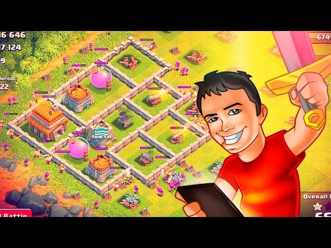 Town Hall 6 Farm Up To MAX! Clash Of Clans!