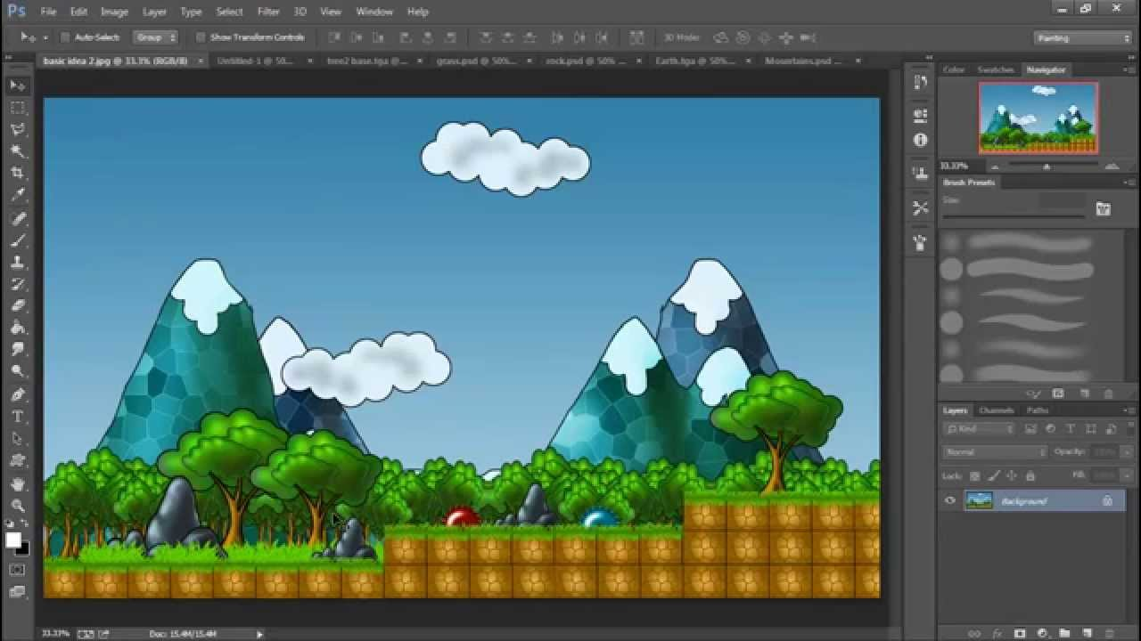 2d Game Art For Non Artists 1 Introduction Youtube