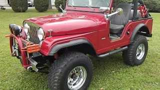 1969 Custom Restored Jeep CJ5