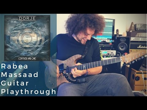 Dorje - Centered & One Guitar Playthrough