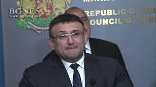 Младен Маринов съобщи, че късно снощи е задържан Северин Надеждов Красимиров