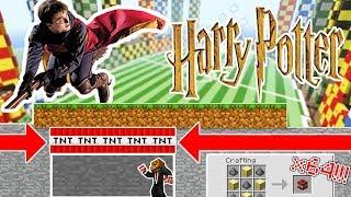 THE BEST TRAPS IN HARRY POTTER HOGWARTS!   Minecraft Mod Minigame TRAP RAIDERS! Part 1