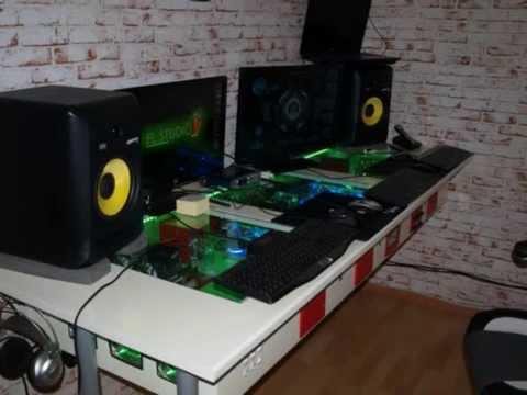 Modding 3 PC im Tisch  Teil 1  die Montasche und Aufbau