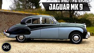 Jaguar MK 9 / MK9 MARK IX 1958 RHD with Overdrive - Modest test drive - Engine sound
