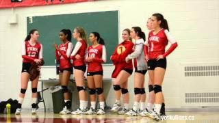 york lions highlights   women s volleyball vs rmc paladins nov 6 2015