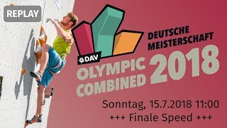 Finale Speed - Deutsche Meisterschaft Olympic Combined 2018