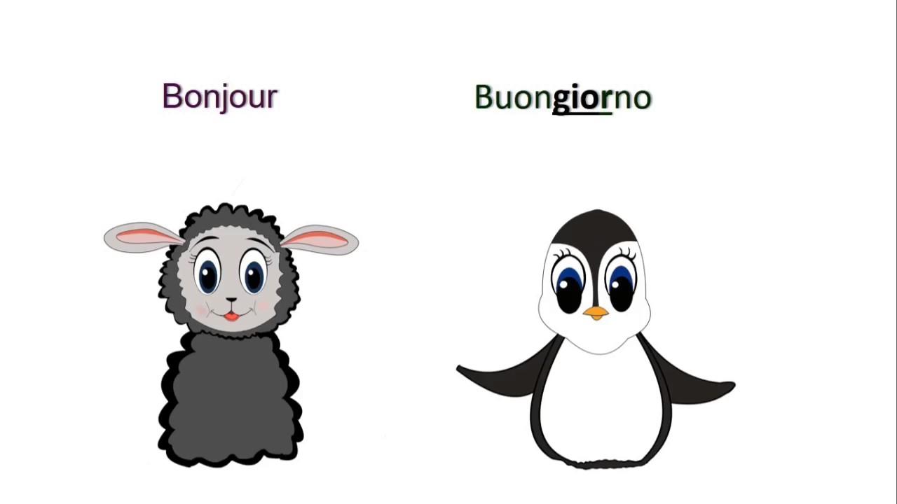 1ere lecon d italien comment dire bonjour et au revoir en italien
