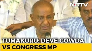 How It Became HD Deve Gowda vs Ally Congress In Karnataka's Tumakuru