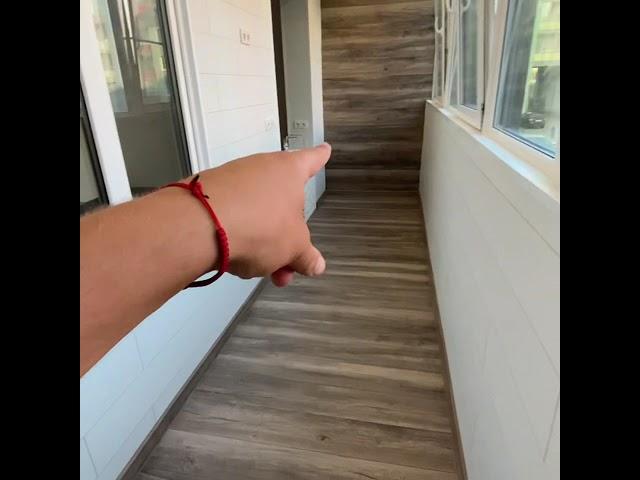Смотреть видео Балкон под ключ @ Пулковское шоссе, 71