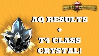 aq results t4 class crystal opening   marvel contest of champions