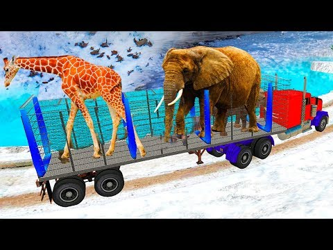 Zoo Animal Transporter Truck 3D Game - Android GamePlay FullHD