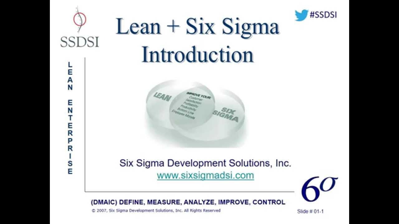 Introduction To Lean Six Sigma Webinar Pre Recorded Youtube