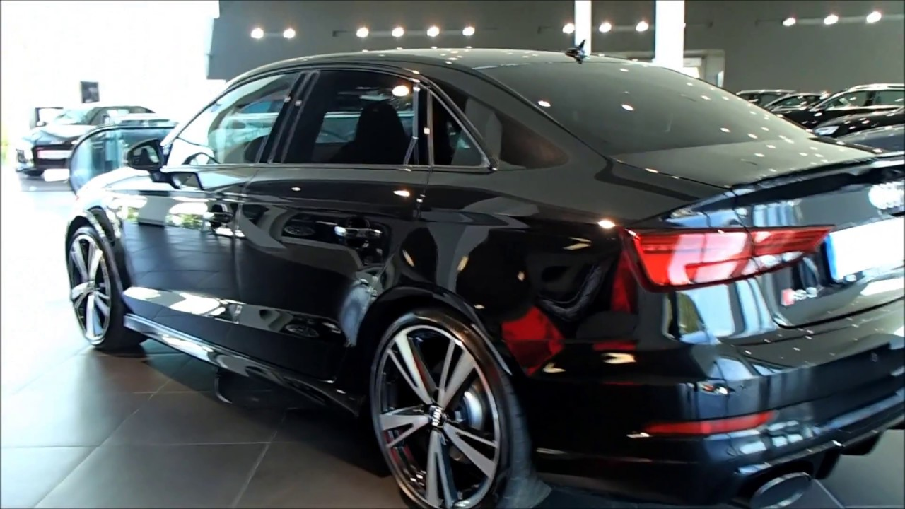 Mythos Black 2018 Audi Rs3 Sedan 400ps With Black Optic