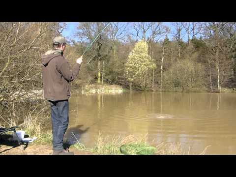 Carp on the fly rod with Laurence Mason