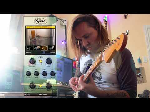 Universal Audio Capitol Chambers Guitar Clean & Distorted Quick First Clips - Brendan Mowat-Smith