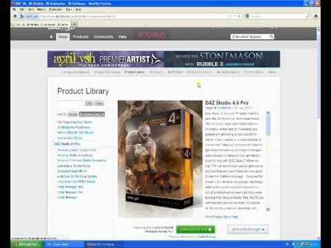 daz studio 4.6 pro free download