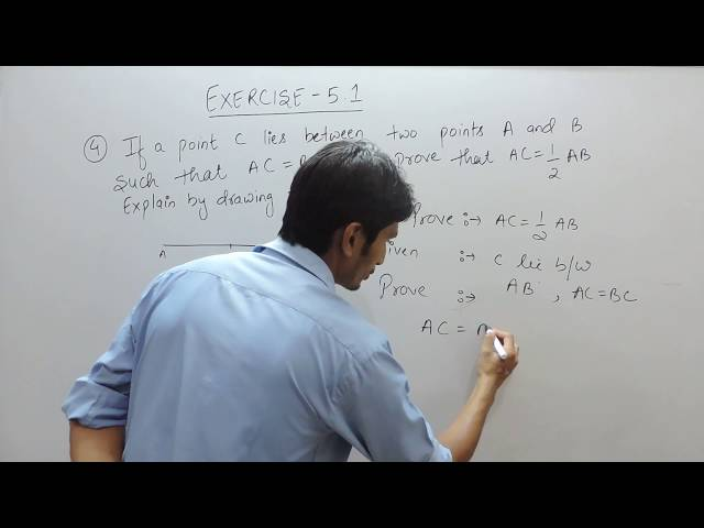 Exercise 5.1 - Question 4 NCERT/CBSE Solution for Class 9th Maths Introduction to Euclids Geometry