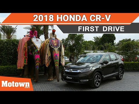2018 5th generation Honda CR-V First Drive Review
