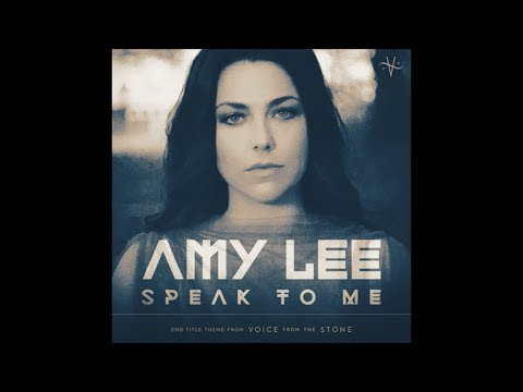 "Ouça ""Speak to Me"", música de Amy Lee para a trilha sonora do filme ""Voice From the Stone"""