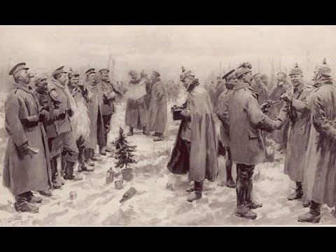 Natal de 1914, um dia de paz na 1a guerra mundial.