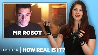 Hacker Rates 12 Hacking Scenes In Movies And TV | How Real Is It?