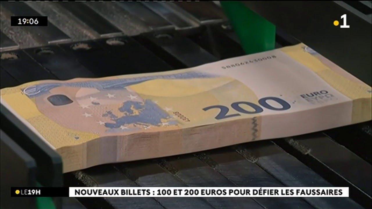 Nouveaux billets : 100 et 200 euros pour défier les faussaires #1