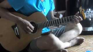 Bằng Lăng Tím Guitar cover Mrsmod
