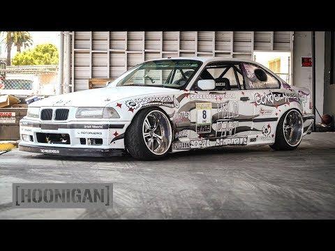 [HOONIGAN] DT 106: Widebody BMW E36 Double Dutch Donuts (Sh*tcar)