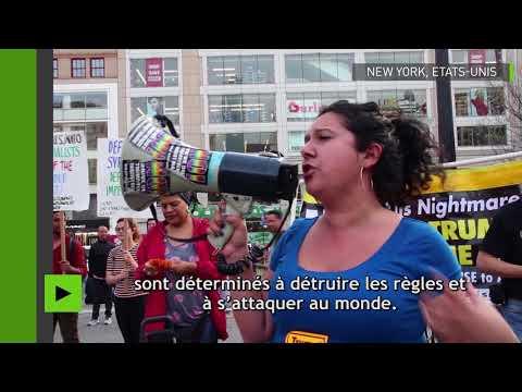 Etats-Unis : manifestations pacifistes à Washington et New York contre les frappes en Syrie