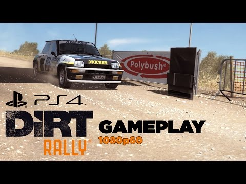 Dirt Rally PS4 Gameplay