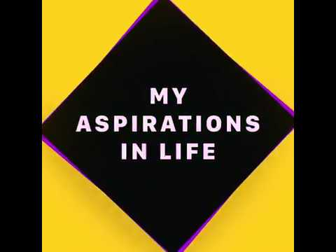 My Aspirations in Life My Story Mrigayu Ghosh (MG$ - YouTube