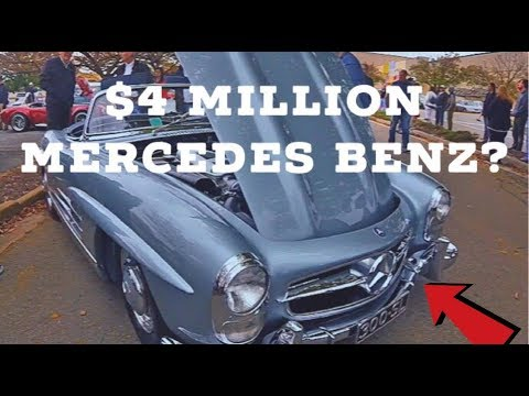 $4 MILLION MERCEDES BENZ 300 SL COUPE? (CARS & COFFEE PART1)