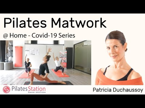 Pilates Matwork with Patricia Duchaussoy.