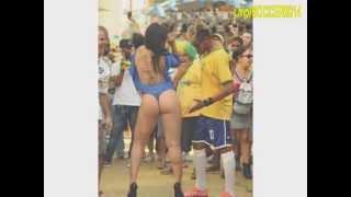 Neymar jr and Sexy Brazilian Girl  world cup 2014