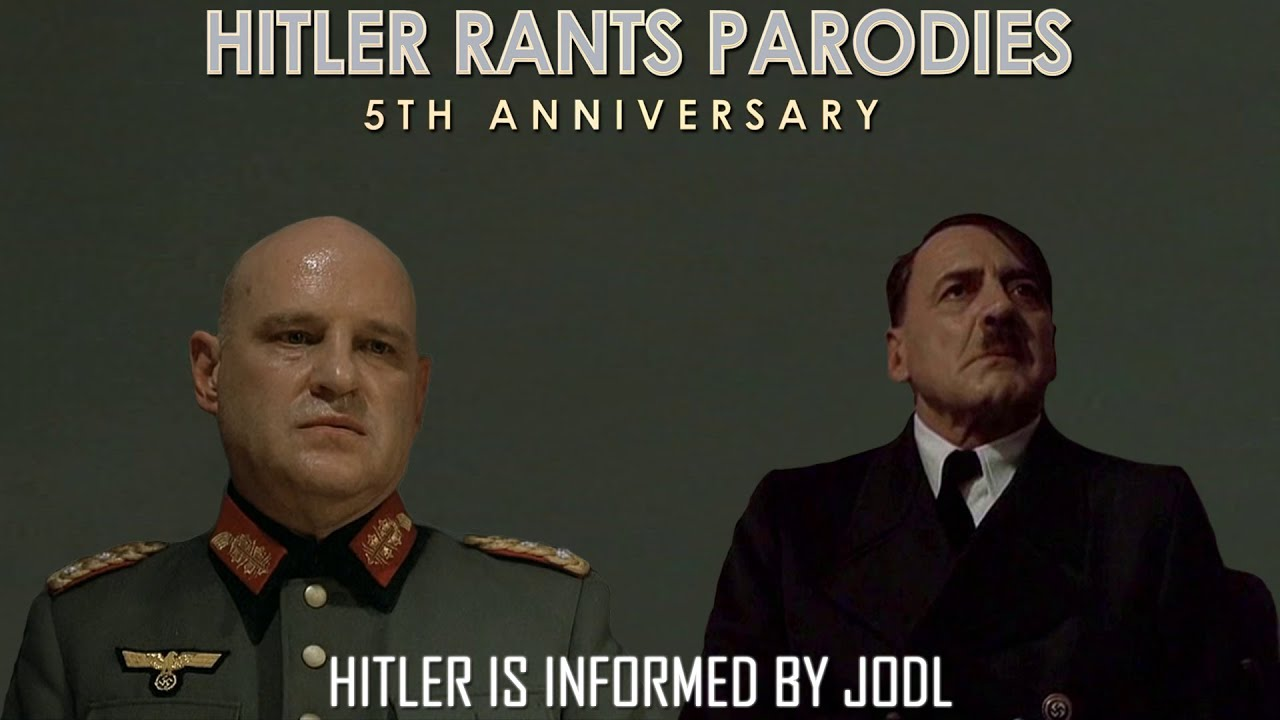 Hitler is informed by Jodl