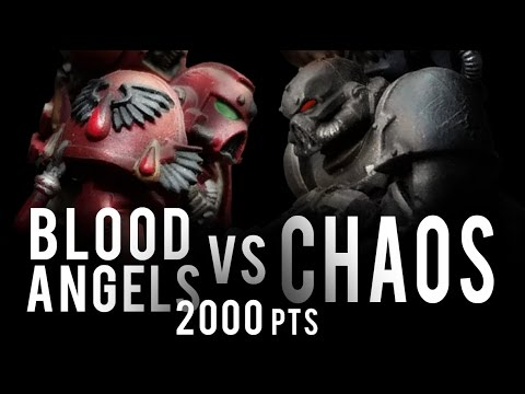 NEW Blood Angels vs NEW Chaos Warhammer 40K Battle Report - Banter Batrep Ep 156