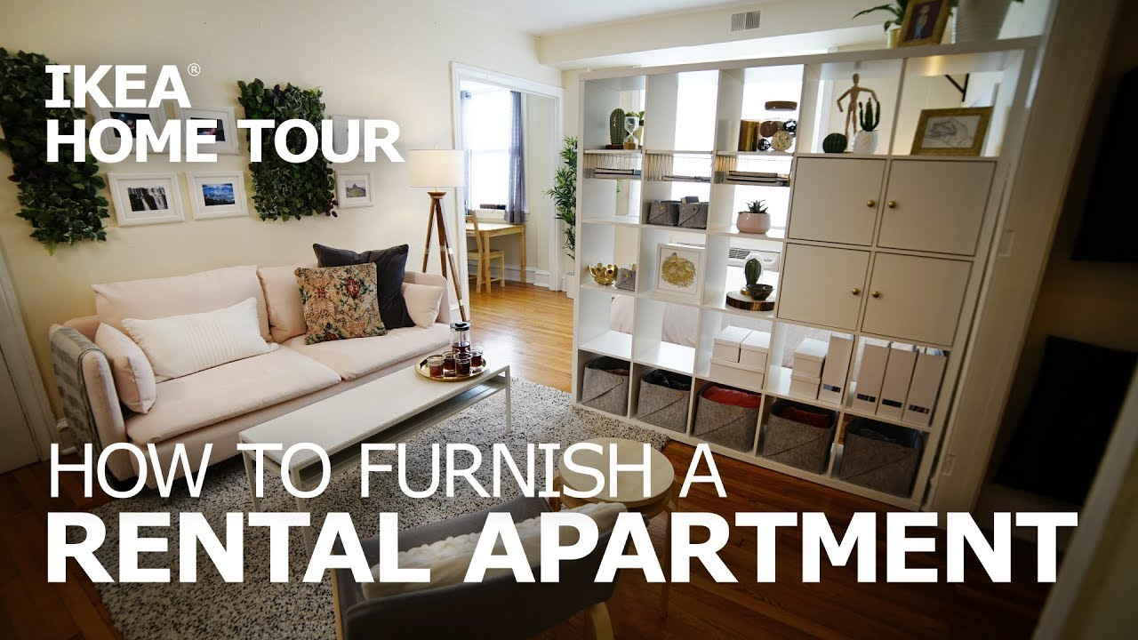 Living Room Furniture For Studio Apartments Blue Curtain Designs First Apartment Ideas Ikea Home Tour Episode 402 Youtube