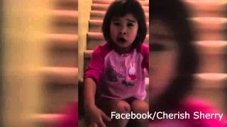 Adorable Girl Tells her Divorced Parents to be Friends