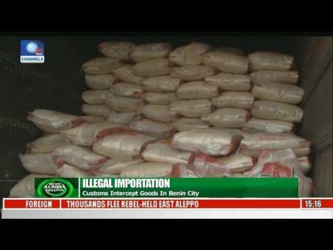 Customs Intercept Goods In Benin City