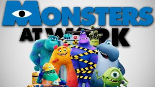 Monsters At Work Is An Animated Version of The Office
