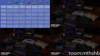 TECHNO Radio ONLINE room from KORG Gadget for Switch  #GadgetSwitch