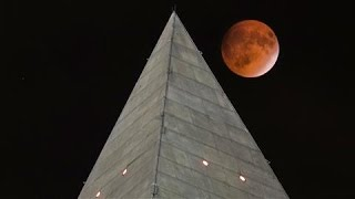 Rare Supermoon Lunar Eclipse in 60 Seconds
