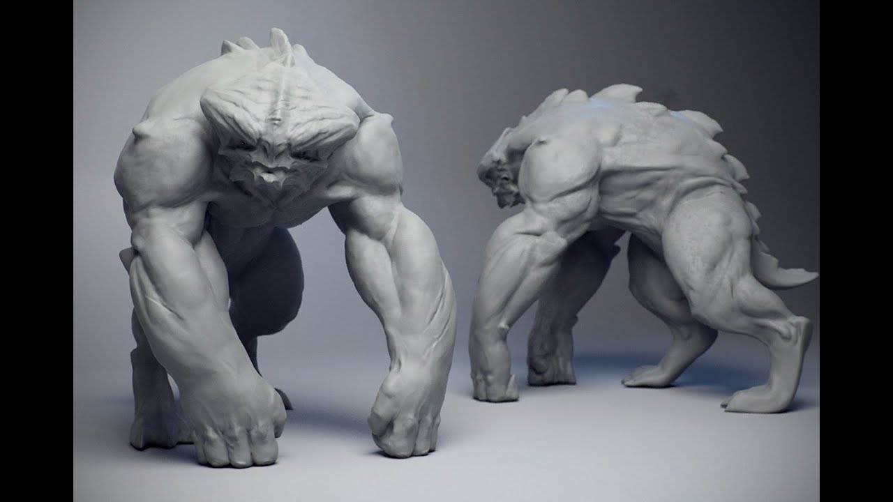 Creature Concepting in ZBrush by FlippedNormals - ArtStation Magazine